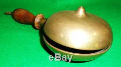 ANTIQUE FIRE ALARM or MUFFIN TYPE BELL, VICTORIAN PERIOD, ESTATE FOUND, NICE