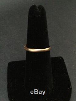 Antique ESTATE Ornate VICTORIAN 18k 18ct YELLOW GOLD Repousse GARNET RING Sz 7