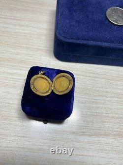 Antique Edwardian Victorian Estate Gold Filled Locket