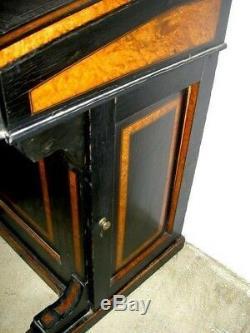 Antique Victorian Davenport Desk Diminutive Rare Size Boston Estate Rare Size
