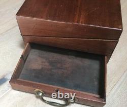Antique Victorian Late 1800s Lap Writing Desk Estate Find Mint