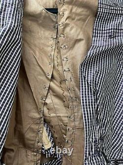 Antique Victorian Original Dress Top Blouse w Mutton Sleeves Estate