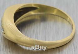 Beautiful antique 18K c1880 Victorian era estate Old European cut Diamond Ring