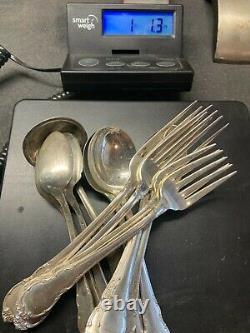 Estate 1 Pound Vintage Lunt Sterling Silver 925 Flatware Silverware 15 Pieces
