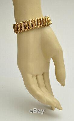 Estate Antique Victorian Gold Filled Stretch Bracelet