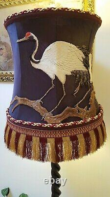 Exquisite Victorian Silk Lampshade from Country Estate extremely rare