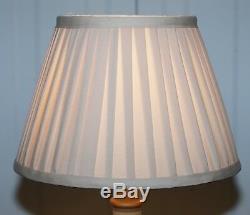 From Duke & Duchess Northumberland's Estate Sale Vintage Paint Wood Column Lamp