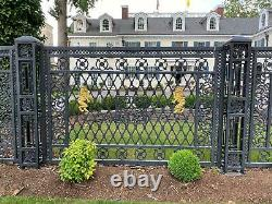 Incredible Cast Iron Victorian Style Estate Fencing And Gates Nhp20