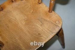 King Edward VII Crown Estate Stamped Captains Armchair O'haines High Wycombe