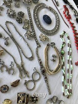 MIXED JEWELRY LOT High End Antique Victorian AND Vintage Art Deco 121 Pieces