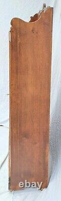 Victorian American Solid Oak 2 Door Bookcase Display China Cabinet LA Area