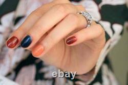 Victorian Edwardian Estate Milgrain Ring 2.58ct Vvs1 Diamond 14k White Gold Over